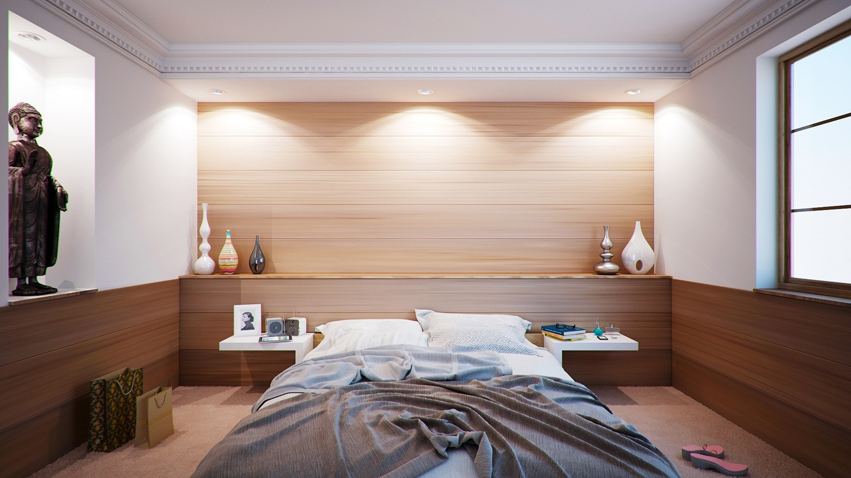 Iluminação residencial de quartos