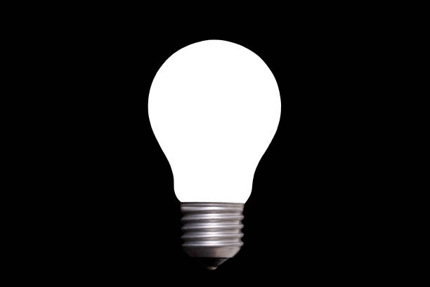 Light Bulb Black Background Stock Photos, Pictures & Royalty-Free ...