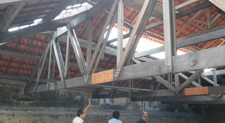 Treliça de madeira do Iphan João Pessoa
